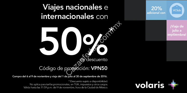 Volaris promo code, coupon at metrnight.gq Volaris is the most affordable priced airline providing with journeys to United States and the Mexico, Puerto Rico, Guatemala and Costa Rica. It was established in and is situated in Mexico.