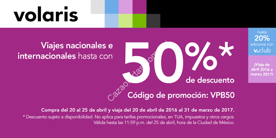 Volaris coupon code