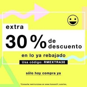 cupon-forever-21-30-descuento