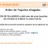 Recibe orden de Tacos Ahogados de El Rincón Villadiego en la compra de tu plato fuerte