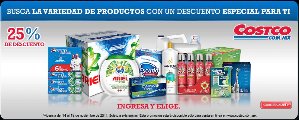 25 de descuento en productos p g comprando en - Costco productos y precios ...
