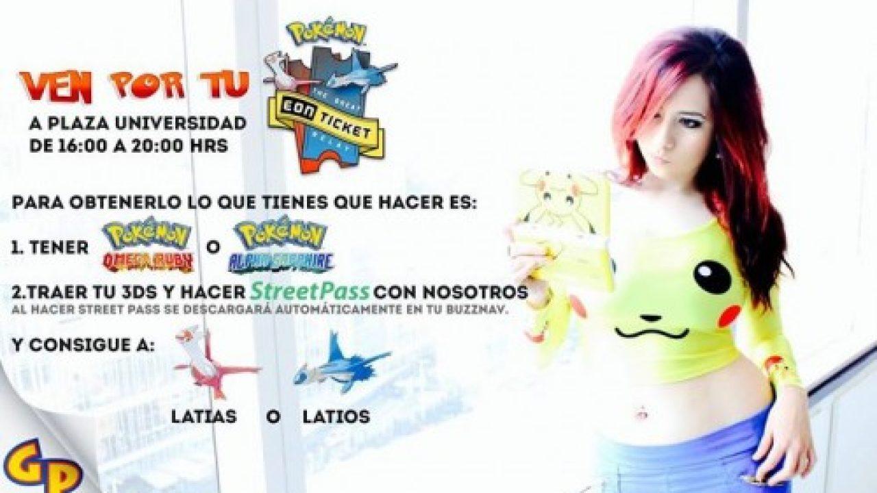 Gratis EON Ticket Pokémon para ver a Latias y Latios en