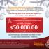 Bono de regalo de 50 mil pesos para inscripción en la Universidad Autónoma de Guadalajara al presentar imagen impresa