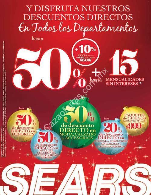 Ofertas Sears 25 de diciembre: hasta 50% de descuento en todos los ...