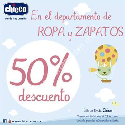 d6f33abd964 50% de descuento en ropa y zapatos para bebé en Chicco