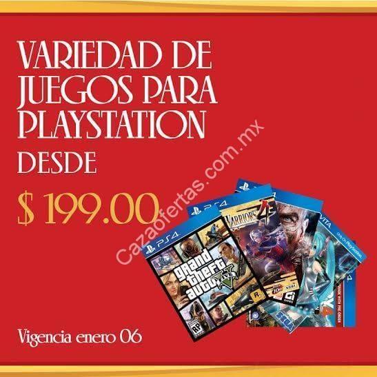 consolas de videojuegos comercial mexicana