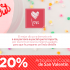 20% de descuento en artículos de cocina y mesa de San Valentín en The Home Store