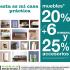 Muebles 20% + 6 meses y 25% en accesorios en Mobica