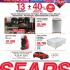 Hasta 40% de descuento directo + 13 meses sin intereses en Sears del 6 al 9 de febrero