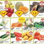 Ofertas Frutas y Verduras Soriana 24-26 de febrero: melón, aguacate y manzana con descuento
