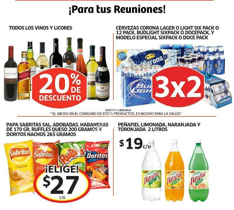 Promociones de vacaciones en Soriana: 20% de descuento en