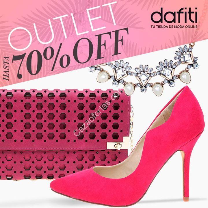 Outlet Dafiti con hasta 70% de descuento en zapatos