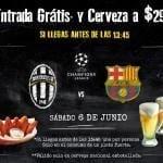 Entrada (botana) gratis y cervezas a $29 en restaurantes Chazz si vas hoy a ver la final de la Copa del Rey