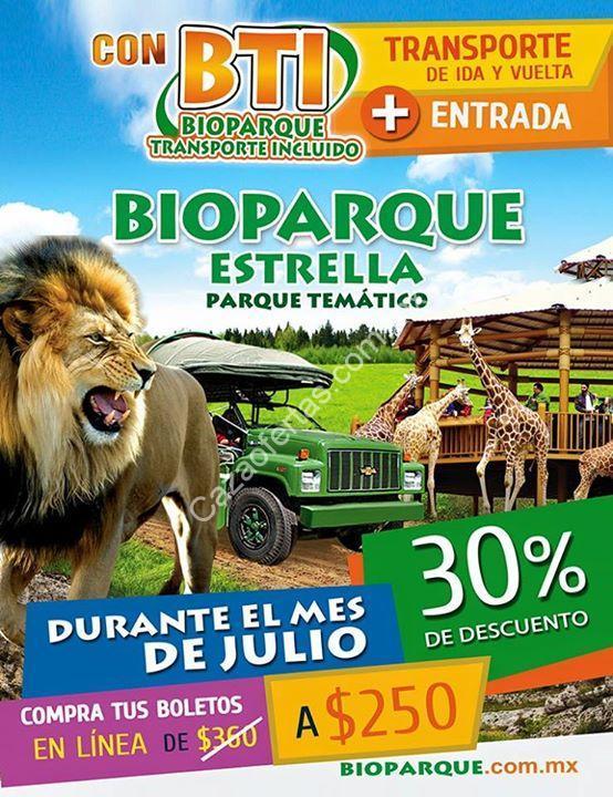 Promociones Bioparque Estrella Julio 30 De Descuento En