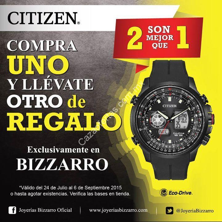 3c7db189a497 Promoción Bizzarro 2X1 en relojes Citizen