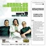 Pase doble GRATIS para el concierto de los Enanitos Verdes si compras $800 en tiendas de Pabellón Polanco