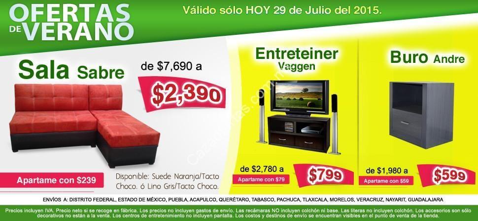 Rebajas de verano en ingenia muebles muebles para tv for Rebajas muebles de jardin