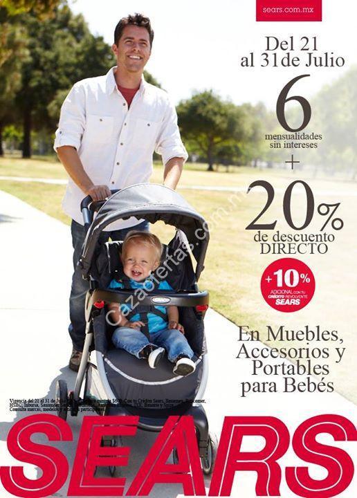 En Sears 20% de descuento en carriolas, cunas, muebles, accesorios y ...