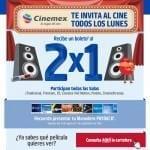 En Cinemex 2×1 los lunes presentando monedero Payback en todas las salas