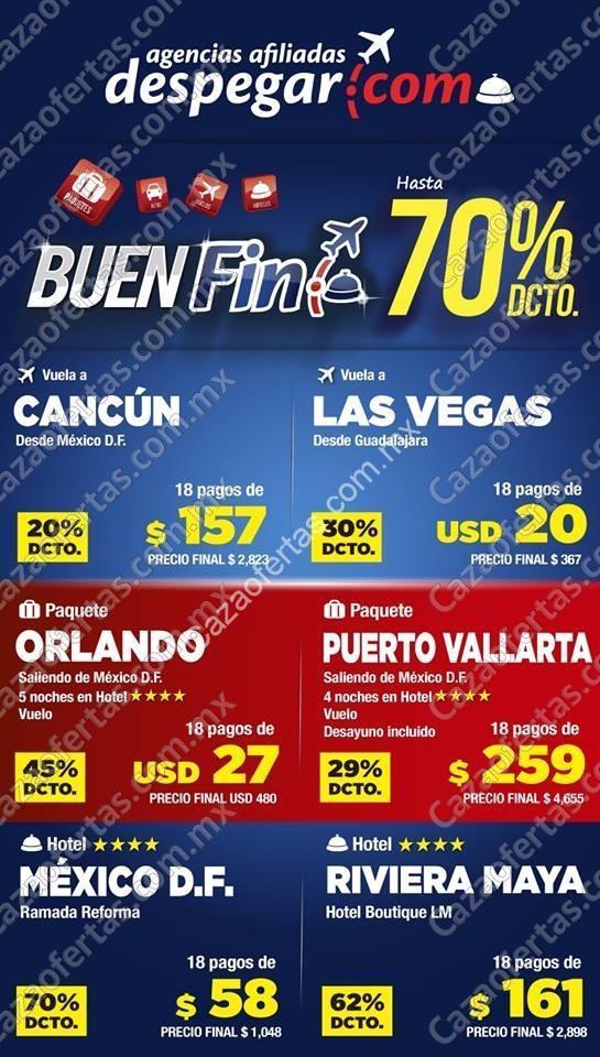 Ofertas Despegar El Buen Fin 2015: Hasta 70% de descuento ... - photo#33