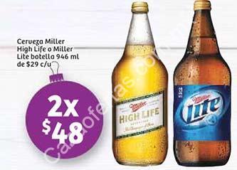 Ofertas Soriana Jueves Cervecero 2 Caguamas Miller Por 48 Six