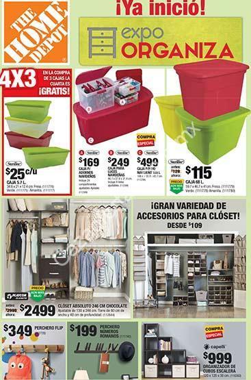 5ce9667ecbbbb Imagen de la promo  En Home Depot Expo Organiza  4x3 en cajas organizadoras