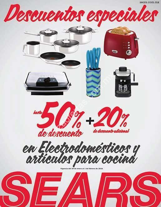 En sears hasta 50 de descuento 20 adicional en for Articulos de cocina