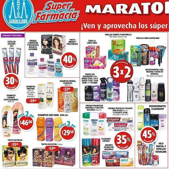 Farmacias Guadalajara Maratón del Ahorro: 3×2 en pañales