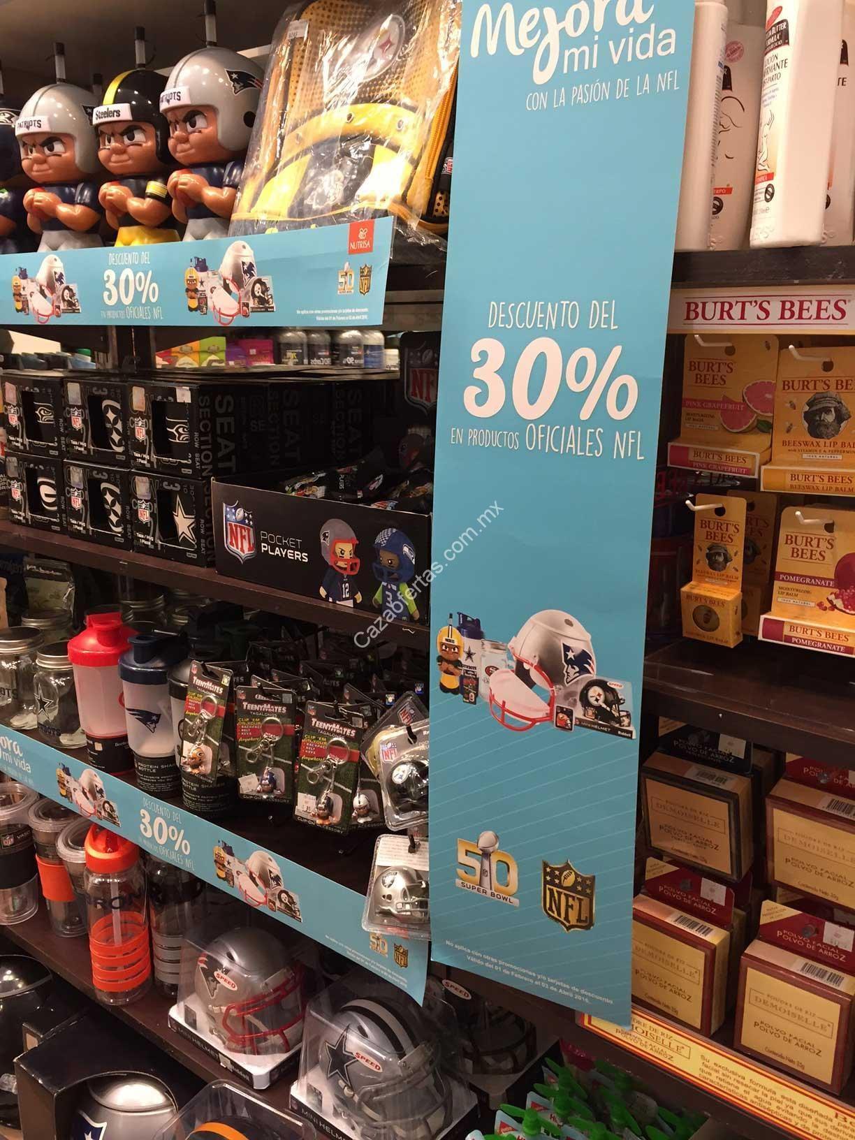 En Nutrisa 30% de descuento en productos oficiales de la NFL 0e1c2ec1c7b