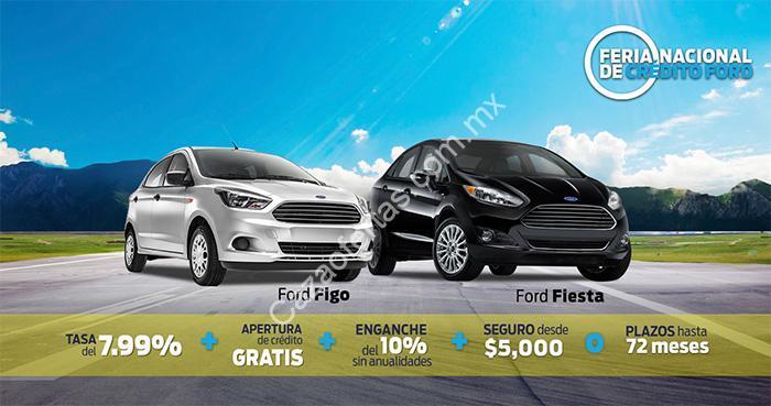 Feria Nacional De Credito Ford Tasa Desde El 0 Apertura De