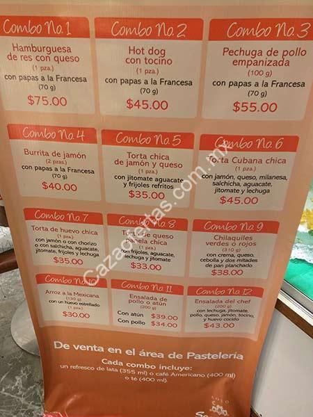 En sanborns comidas para llevar desde 30 pesos incluyen for Sanborns restaurant mexico