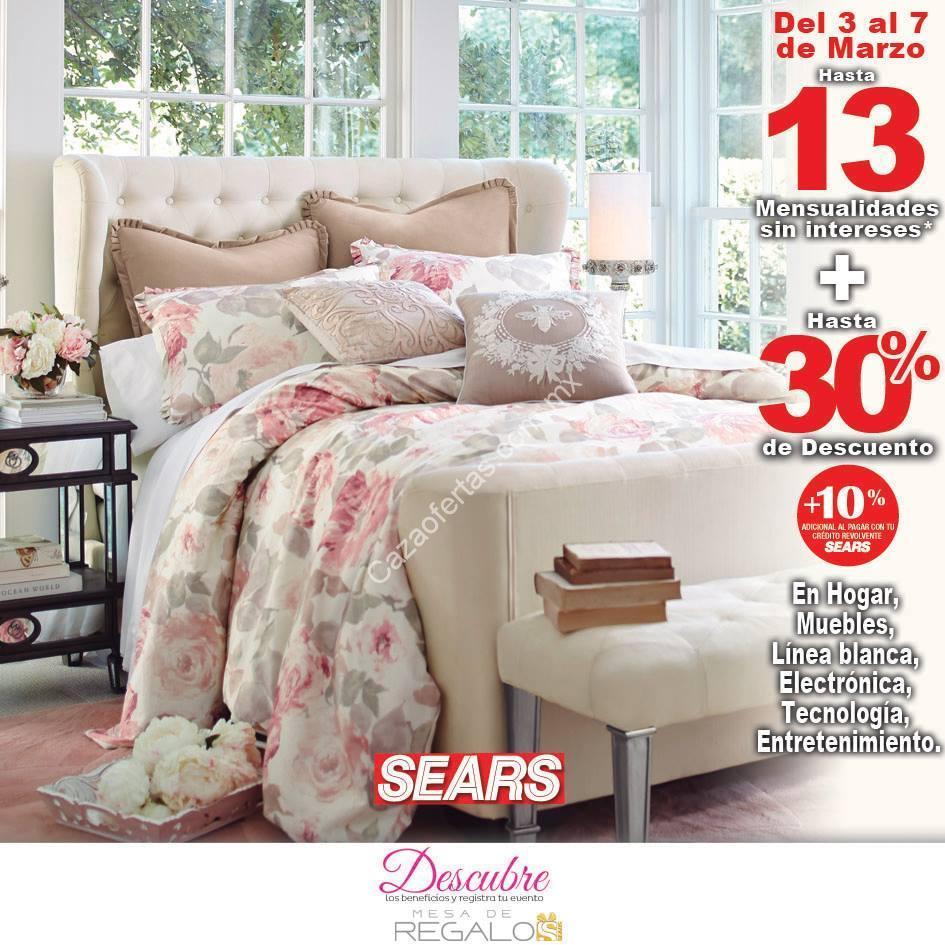 En Sears hasta 30% de descuento y 13 meses sin intereses en hogar ...