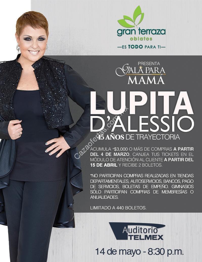 Boletos Para Lupita Dalessio El 14 De Mayo Comprando 3 000