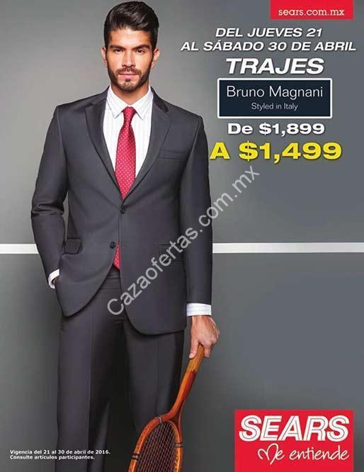 330f6d9d0a154 En Sears trajes Bruno Magnani para hombre a  1