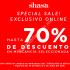 Ofertas Shasa Hot Sale 2016: hasta 70% de descuento en artículos seleccionados