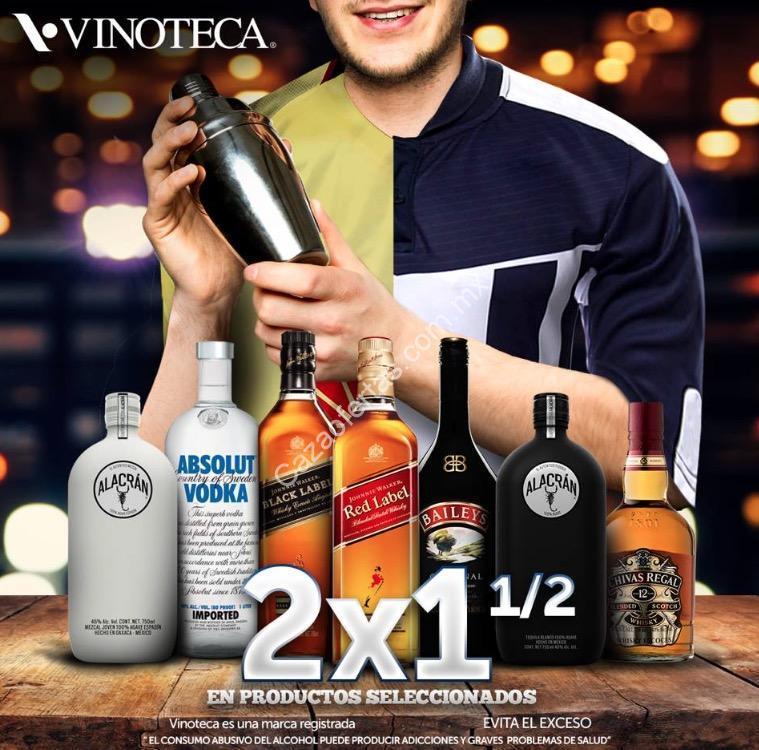 En Vinoteca México 2×1 1/2 En Botellas Seleccionadas