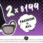 Promoción Osom (Dafiti) Hot Sale: productos de 2x$199, 2x$399 y 2x$599 hasta hoy a las 5:00 PM