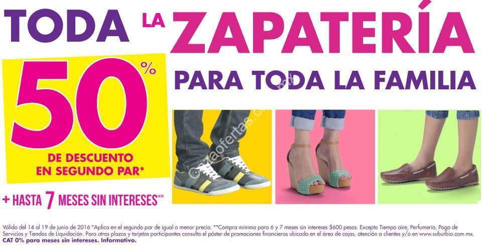 26e626abe4d4d En Suburbia 50% de descuento en el segundo par de zapatos
