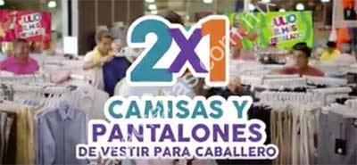 45c830911e96c Imagen de la promo  Ofertas Julio Regalado 2016  2x1 en camisas y  pantalones de