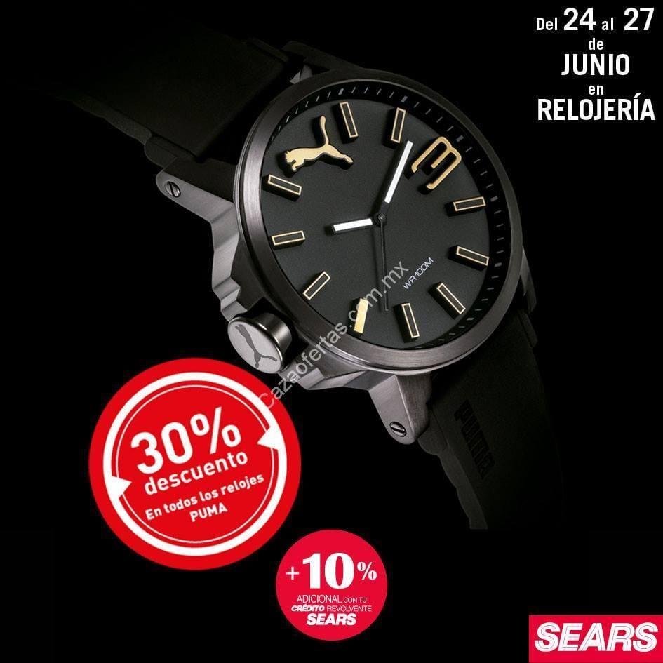 3142479c1 En Sears 30% de descuento todos los relojes Puma