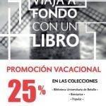 Promoción Vacacional FCE: 25% de descuento en colecciones Breviarios, Popular y más