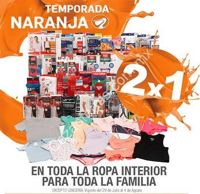 a2c6b9b1e0 Ofertas Temporada Naranja (antes Julio Regalado 2016)  2×1 en ropa interior