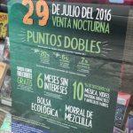 Venta Nocturna Librerías El Sótano 29 de julio: Tarjeta cliente frecuente gratis, morral gratis, dobles puntos y más