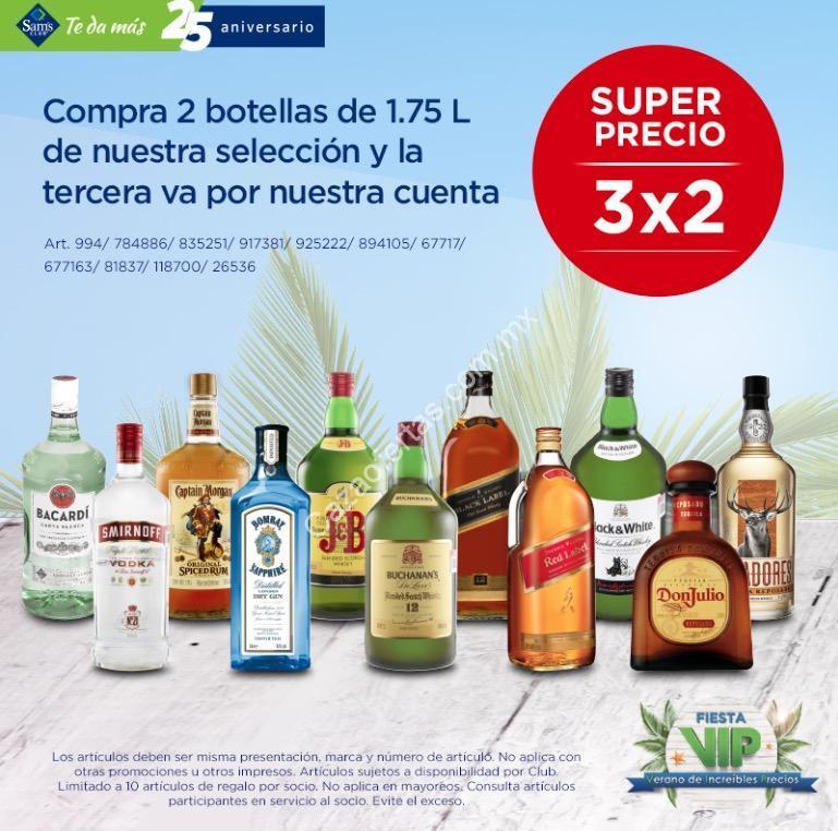 En Sams Club 3×2 En Botellas De 1.75 Litros