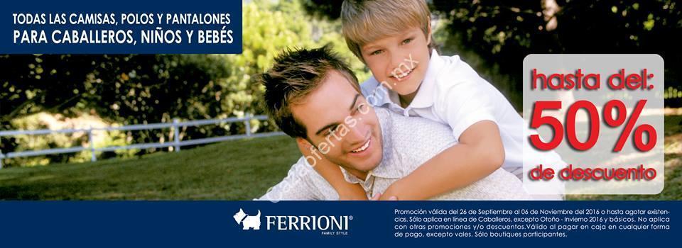 e0abc6c24a En Ferrioni hasta 50% de descuento en camisas