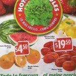Folleto de ofertas Hoy es Miércoles de Plaza 11 y 12 de octubre: sandía y naranja $4.50, jitomate y manzana golden $19.50