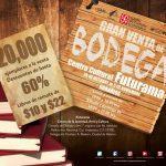 Venta de Bodega del FCE 2016: Libros de remate de $10 y $22 pesos