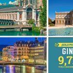 Vuelo redondo a Ginebra a $9,713 con impuestos incluídos por Mundo Joven