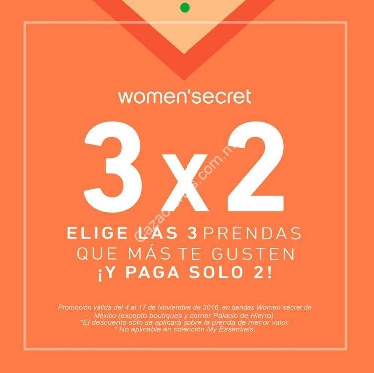 31dbbbb374 3×2 en boutiques Womens Secret a partir de hoy
