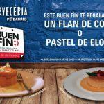 Promociones Cervecería de Barrio El Buen Fin 2016: Flan de coco o pastel de elote GRATIS